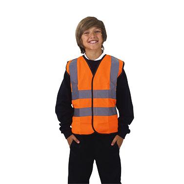 School Hi-Viz Waist Coats