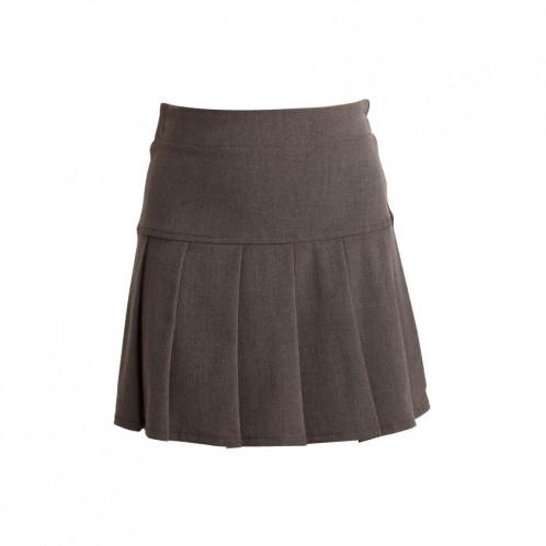 Knife Pleat School Skirt (7054)