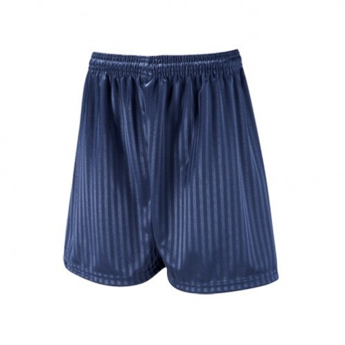 Navy Shadow Stripe Football Shorts (7210NAVY)