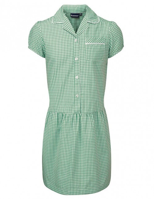 Ashley Gingham Check Summer Dress (7478)