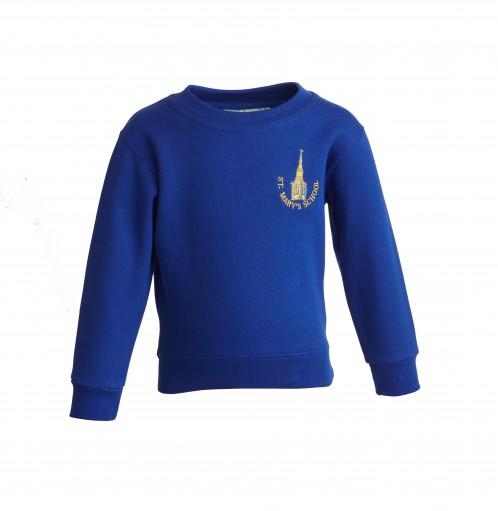 St Mary's Church of England Primary School Sweatshirt (8620)