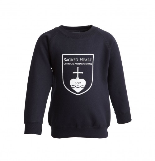 Sacred Heart Primary School Sweatshirt with School Logo (8680)