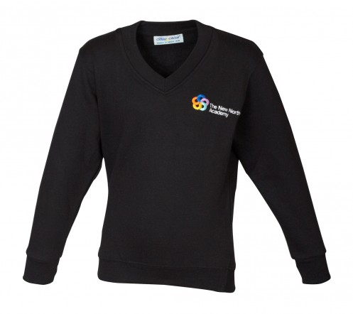 New North Academy V-Neck Sweatshirt (8732)