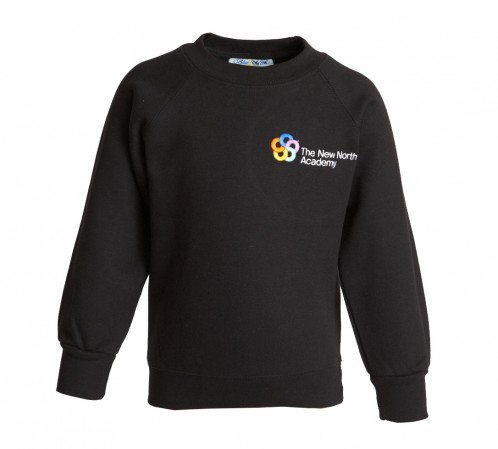 New North Academy Round Neck Sweatshirt (8733)
