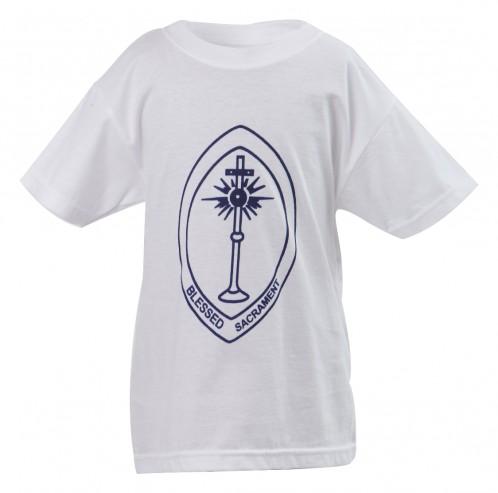 Blessed Sacrament Round Neck T-Shirt (BS8475)