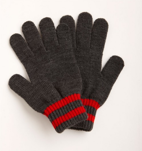 School Uniform Knitted Gloves art no. CPG 8200 Cardinal Pole Girls
