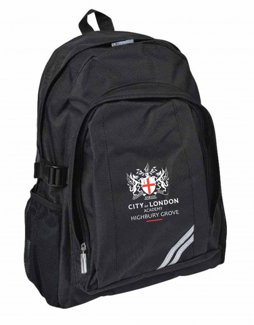 Highbury Grove Academy School Backpack (8110)