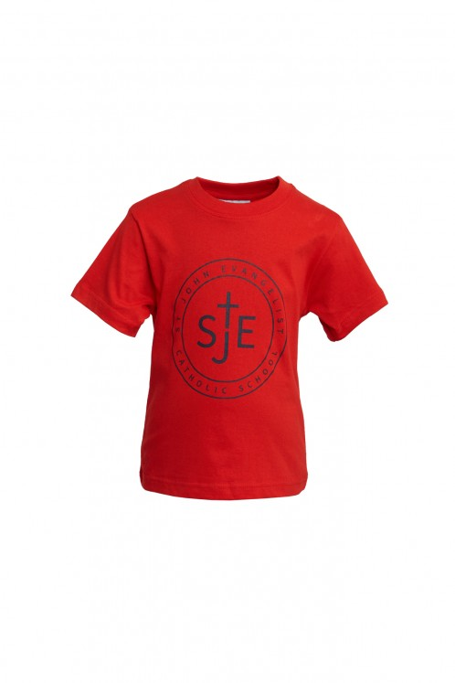St John Evangelist Round/Neck P.E. T-Shirt (SJV8485)