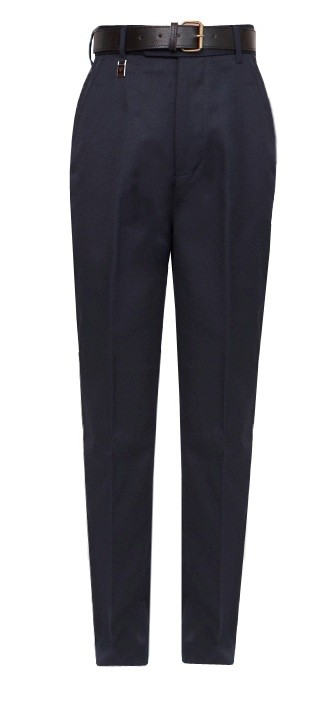 "Navy Regular Fit School Trousers to 29"" Waist (7041NAVY)"