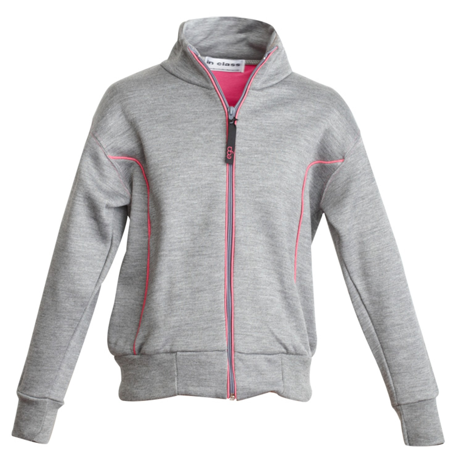 Zip through sweat shirt compulsory ega 8063 elizabeth for How to not sweat through a shirt