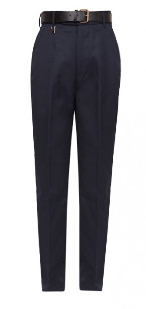 Navy Senior Regular Fit School Trousers (7042NAVY)