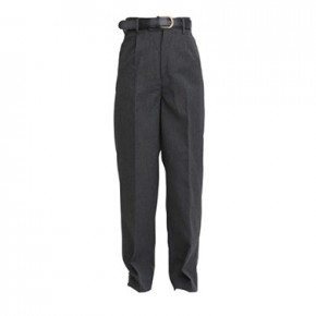 "Regular Fit Charcoal School Trousers to 29"" Waist (7041C)"