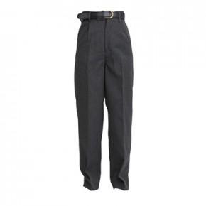 "Regular Fit Black School Trousers to 29"" Waist (7041B)"