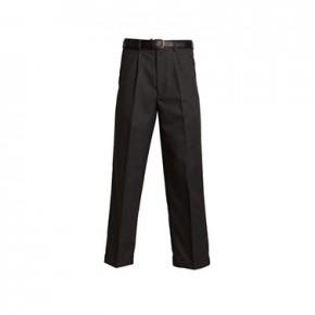 Senior Regular Fit Black School Trousers (7042B)