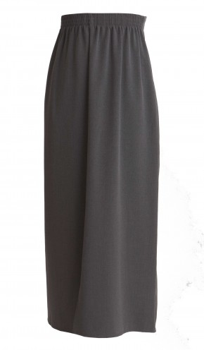 Grey Maxi Length School Skirt (7055GREY)