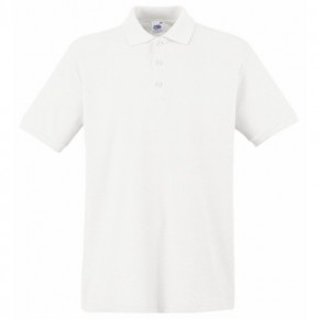 JTS White Short Sleeve Polo Shirt - Senior School (7095JTSS)