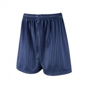 Milford School Navy Shadow Stripe Football Shorts (7210MILFORD)