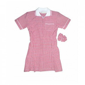 Girls Red Summer Dress - Best Seller! (7364RED)