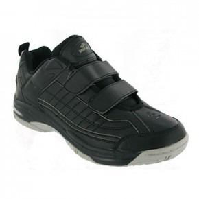 Velcro Fastening P.E. Trainers by Mirak (7366)
