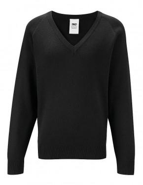 50/50 V-Neck Long-Sleeve Pullover (7425)