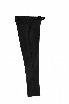 Black Slim Fitting School Trousers (7432BLK)
