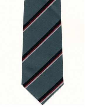 Ansford Academy Striped Tie - Click for range of colours (8582)
