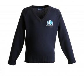 ISIB 100% Cotton V-Neck Pullover (8591)