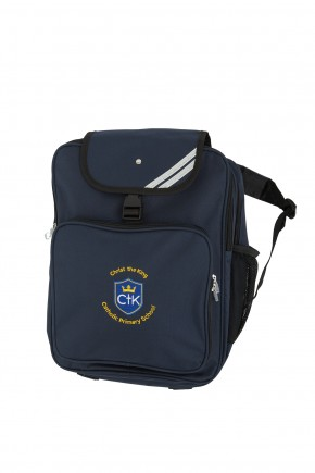 CTK Junior Backpack with School Logo (8797)
