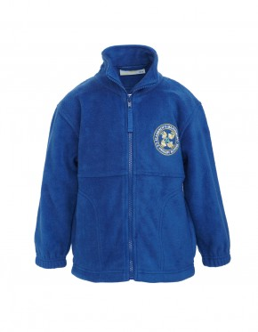 St Andrew's Fleece Jacket with School Logo (8823)