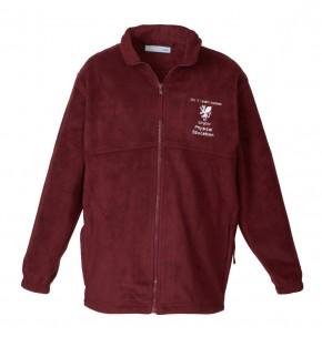 City of London Academy Islington P.E. Full Zip Fleece Jacket (CL8166)