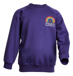 Dubmire Primary Compulsory R/N Sweat Shirt (DP8430)