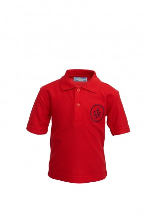 St John Evangelist School Polo T-Shirt (SJV8486)