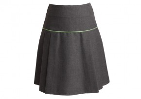 "Skinners Academy Girls Skirt - 2"" Longer Length (SKA8289)"