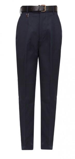 "Navy Regular Fit School Trousers to 29"" Waist (7041NAVY)"
