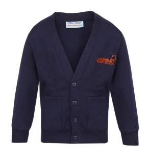 Canonbury Primary Girls Sweatshirt Cardigan (C8426)