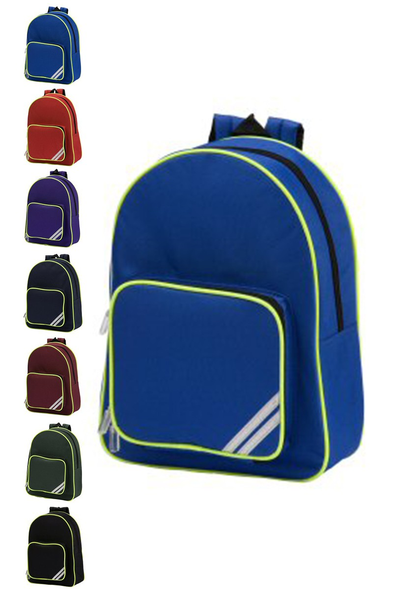 how to wear a school backpack properly
