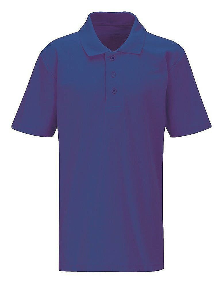 Classic polo shirt 7436 school polo t shirts boys for Purple polo uniform shirts