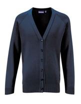 School V-Neck Cardigans & Pullovers