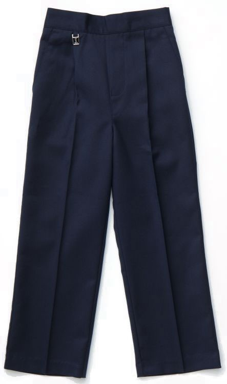 Grey Pull-Up School Trousers (7032GREY)