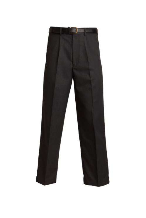 Black Extra Short Fit School Trouser (7043B)