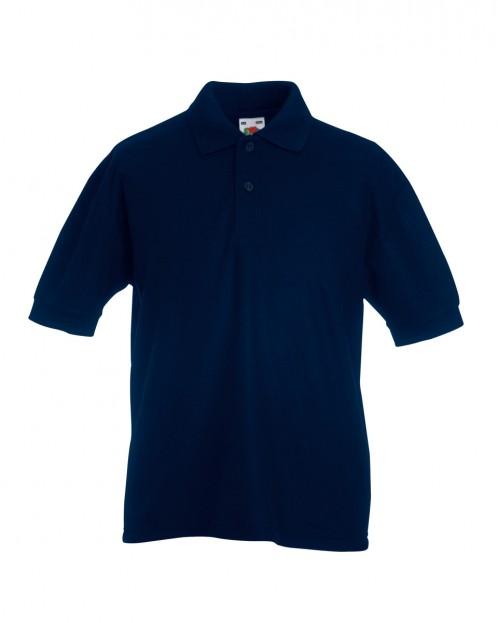 MORA S/S Polo Shirt with School Logo (8241)