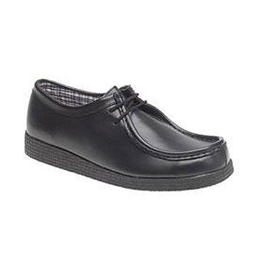 Route 21 'Woody' Leather School Shoes (7347)