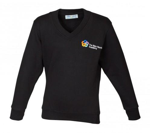 New North Academy V-Neck Sweatshirt (8732)