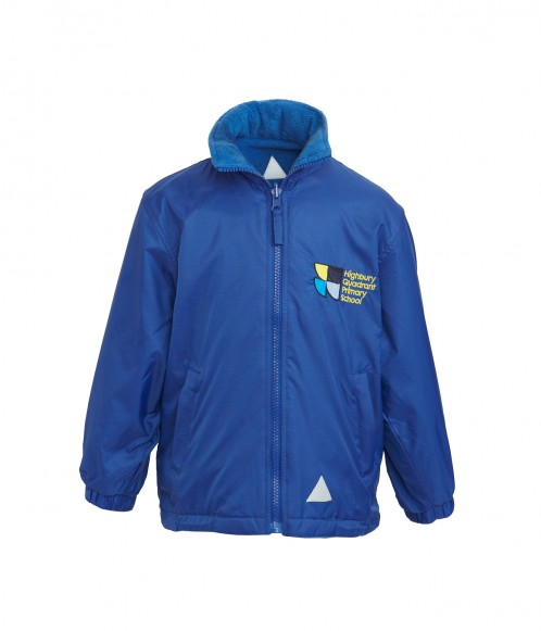 Highbury Quadrant Outdoor Jacket with School Logo (8754)