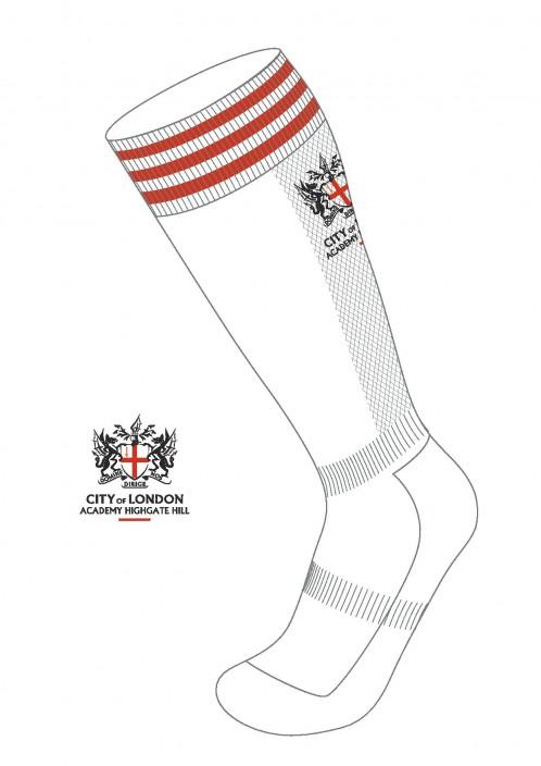 COLA Highgate Hill Football Socks with School Logo (8832)