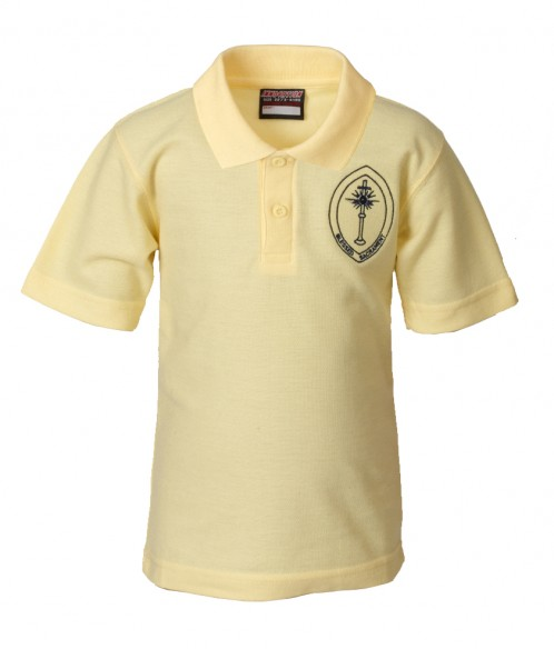Blessed Sacrament School Polo T-Shirt (BS8482)