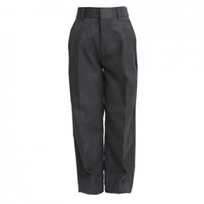 Grey Junior Boys Sturdy Fit School Trouser (7033GREY)