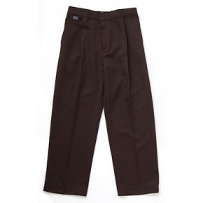 Junior Sturdy Fit Brown Trousers (7035BN)