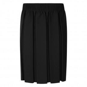 Black Box Pleat Skirt (7052BLK)