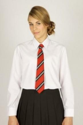 White L/S School Blouses - Senior School (7070JTS)